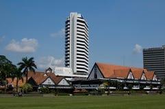 Sight of Merdeka Square. (Padang Merdeka) in Kuala Lumpur, Malaysia Royalty Free Stock Images