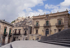 Sight of Modica, Sicily Royalty Free Stock Photography