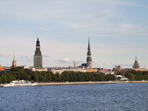 Sight of Old Riga Stock Photography