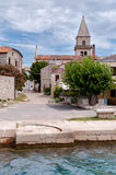 Sight of Osor town in Cres island Royalty Free Stock Image