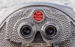 Sight seeing binocular Royalty Free Stock Photography