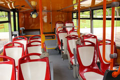 Sight Seeing bus. Inside of a Sight Seeing bus in Lisbon Portugal Photo taken April 2014 Royalty Free Stock Image