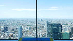 Sight seeing Japan from tall building Royalty Free Stock Photos