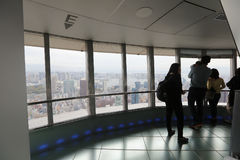 Sight seeing from tokyo tower Stock Photography