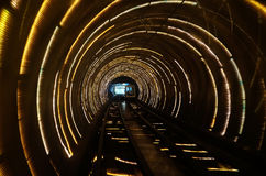 Free Sight Seeing Tunnel Under Huangpu River In Shanghai Royalty Free Stock Photography - 98209777