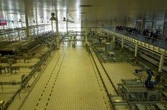 Sighten för fabrik för Mengniu mejeriindustrifas 6 turnerar royaltyfria foton