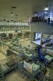 Sighten för fabrik för Mengniu mejeriindustrifas 6 turnerar royaltyfria bilder
