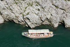 Sightfartyg i den Yosino floden Arkivfoton