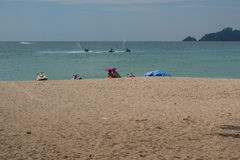 The Sights and Activities of Patong Beach Thailand Stock Photo