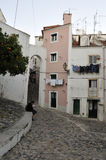 Sights of Alfama, Lisbon Royalty Free Stock Image