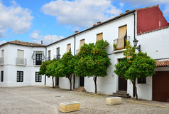 Sights of the ancient Spanish town Ronda Royalty Free Stock Images