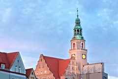 Sights av Polen. Arkivfoton