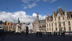 Postcards of Bruges 15 Stock Photography