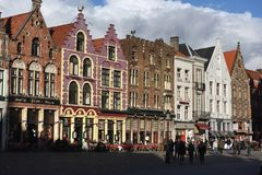 Postcards of Bruges 17 Royalty Free Stock Image