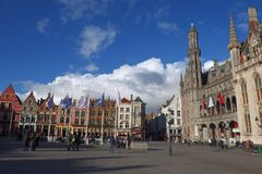 Postcards of Bruges 22 Stock Photography