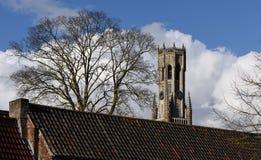 Postcards of Bruges 14 Stock Images