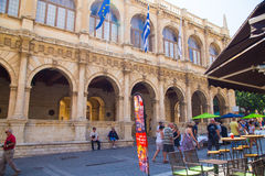 Sights of Heraklion Stock Images