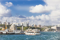 Sights of Istanbul . Royalty Free Stock Photo