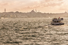 Sights of Istanbul. Royalty Free Stock Photos
