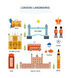Sights of London, architecture, structure, culture, style, traditions and buildings. Stock Image