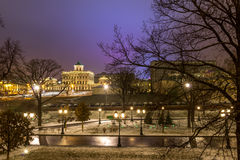 Sights of Moscow,the Moscow Kremlin and the Alexander garden, Stock Photography