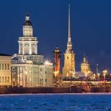 Sights Of Saint-Petersburg Stock Photography