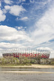 Sights of Poland. National Stadium in Warsaw. Stock Photo