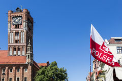 Sights of Poland. Old Town in Torun Royalty Free Stock Photos