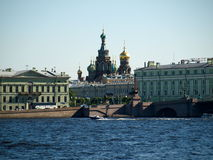 The sights of Saint-Petersburg 2. The nice view of the sights of Saint-Petersburg Stock Image