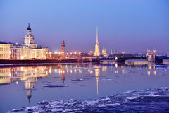 Sights of Saint Petersburg, Russia Stock Photos