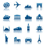 Sights & transportation icons