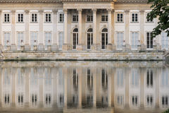 Sights of Warsaw. Palace Lazienki  in Warsaw. Stock Photos