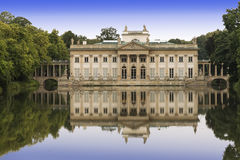 Sights of Warsaw. Palace Lazienki  in Warsaw. Stock Photography