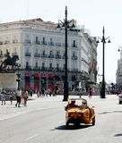 Sightseeeing Madrid Royalty Free Stock Photography