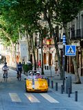 Sightseeeing Madrid Stock Photo