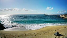 Sightseeing взгляд пляжа Стоковые Изображения