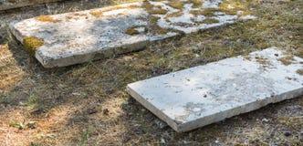 Sightseeing в городе Корфу: интересное место - старое старое briti Стоковые Фотографии RF