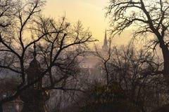 Sightseeing в Праге Стоковые Изображения RF