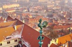 Sightseeing в Праге Стоковые Фотографии RF