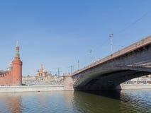 Sightseeing Москва к обваловке Софии Стоковое фото RF