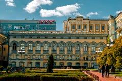 Sightseeing национальная опера в Киеве, Украине Стоковое фото RF