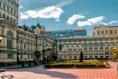 Sightseeing национальная опера в Киеве, Украине Стоковая Фотография
