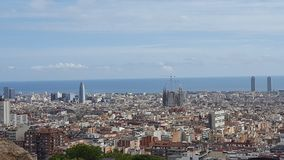 Sightseeing at Barcelona. Spain Stock Image