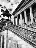 Sightseeing Berlin. Artistic look in black and white. Royalty Free Stock Photography