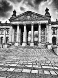 Sightseeing Berlin. Artistic look in black and white. Royalty Free Stock Photos