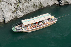 Sightseeing boat Royalty Free Stock Photography