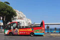 Sightseeing bus Royalty Free Stock Photo