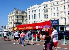 Sightseeing bus, Brighton, England stock photo