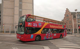 Sightseeing Bus in Bruxelles Stock Images