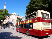 Sightseeing bus Stock Image
